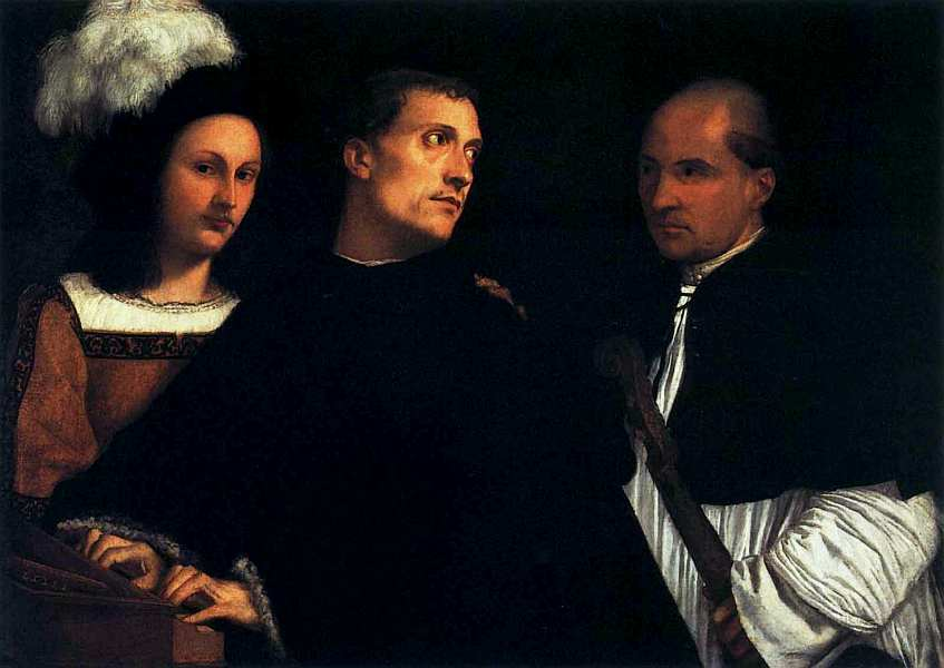 28-Тициан Вечеллио (около 1488-1576) Концерт. Около 1510.jpg