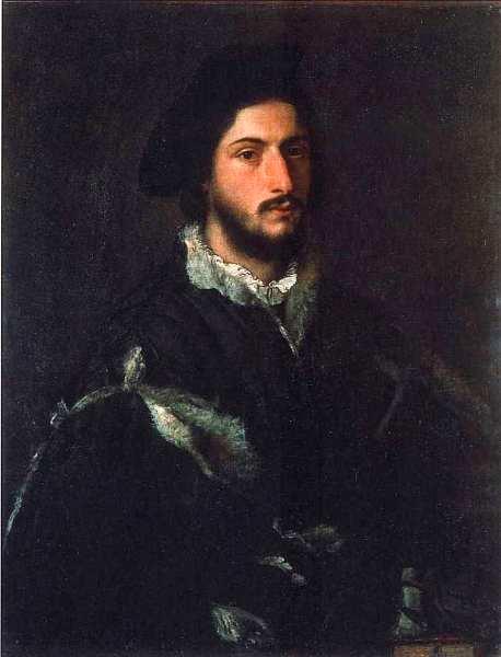 29-Тициан Вечеллио (около 1488–1576) Мужской портрет. Около 1520.jpg