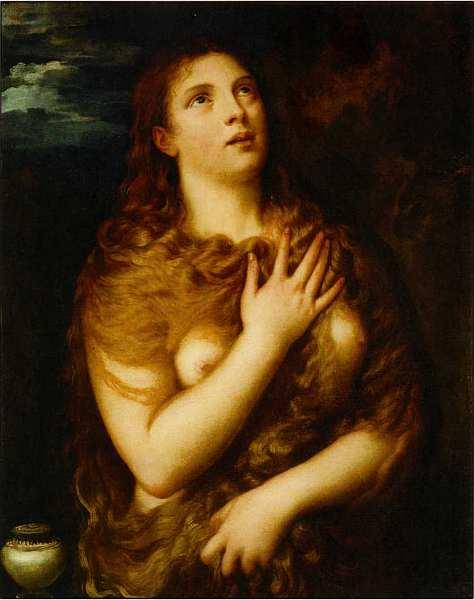 30-Тициан Вечеллио (около 1488–1576) Святая Мария Магдалина. После 1530.jpg