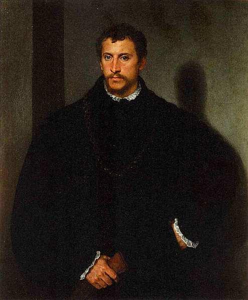 32-Тициан Вечеллио (около 1488–1576) Портрет знатного мужчины. Около 1540–1545.jpg