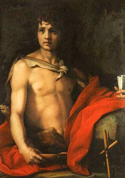 36-Андреа дель Сарто (1486–1531) Святой Иоанн Креститель. Около 1523.jpg