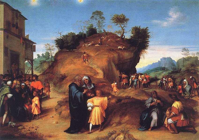 37-Андреа дель Сарто (1486–1531) Истории из отрочества Иосифа. Около 1515–1516.jpg