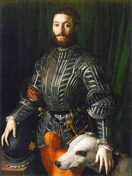 39-Аньоло Бронзино (1503–1572) Портрет Гвидобальдо II делла Ровере Около 1531–1532.jpg