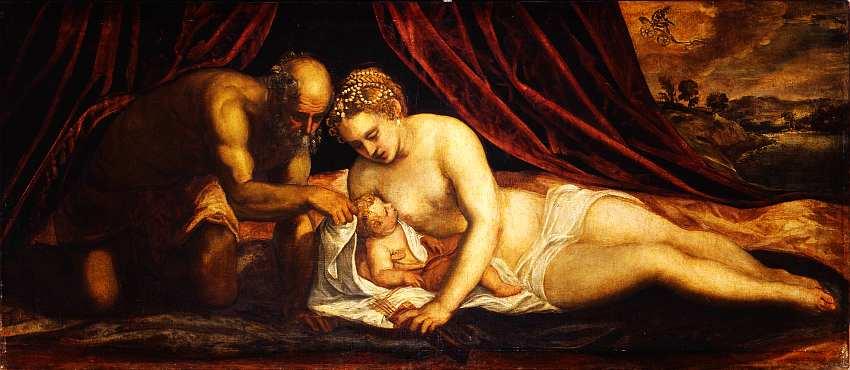 41-Тинторетто (Якопо Робусти) (1518–1594) Венера, Вулкан и Купидон. Около 1550–1555.jpg