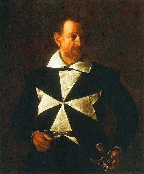 47-Микеланджело Меризи да Караваджо (1571–1610) Портрет Антонио Мартелли (Портрет мальтийского рыцаря) 1608–1609.jpg