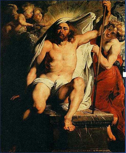 45-Питер Пауль Рубенс. Воскресение Христа. 1616.jpg