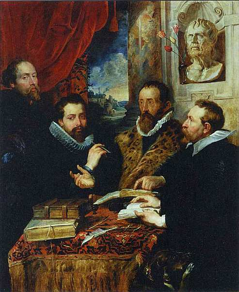 52-Питер Пауль Рубенс (1577–1640) Четыре философа 1611–1612.jpg
