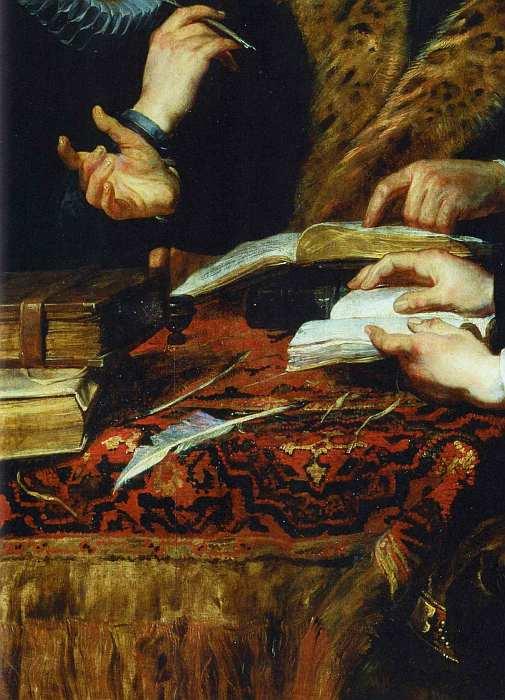 53-Питер Пауль Рубенс (1577–1640) Четыре философа 1611–1612 (фрагмент).jpg
