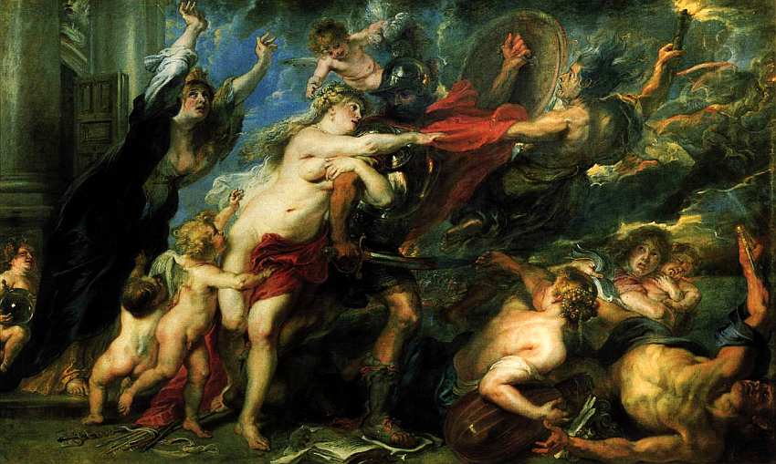 58-Питер Пауль Рубенс (1577–1640) Аллегория войны и мира 1637–1638.jpg