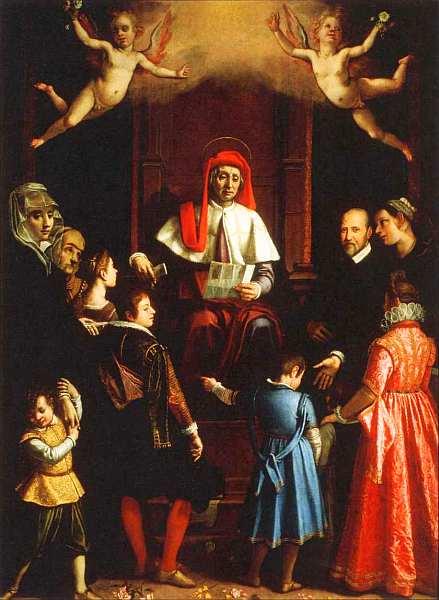 60-Якопо да Эмполи (Якопо Кименти) (1551–1640) Святой Иво, покровитель сирот и вдов 1616.jpg