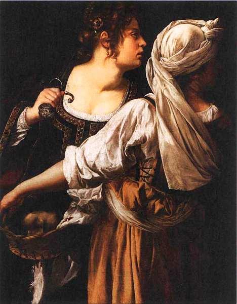 62-Артемизия Джентилески (около 1593–1653) Юдифь со служанкой. Около 1618–1619.jpg