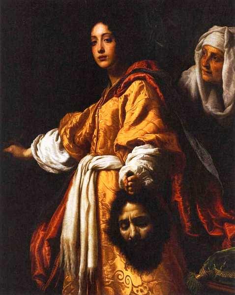 63-Кристофано Аллори (1577–1621) Юдифь с головой Олоферна. Около 1620.jpg