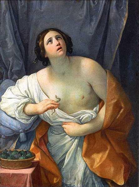 65-Гвидо Рени (1575–1642) Смерть Клеопатры. Около 1635–1640.jpg