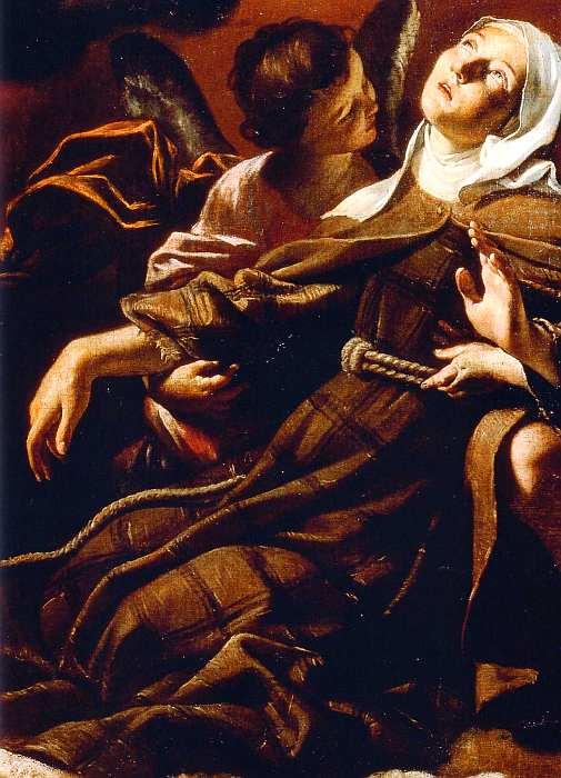 67-Джованни Ланфранко (1582–1647) Экстаз святой Маргариты Кортонской 1622 (фрагмент).jpg