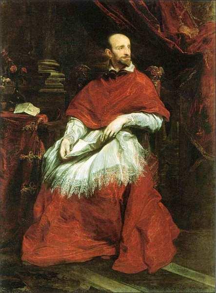 68-Антонис ван Дейк (1599–1641) Портрет кардинала Гвидо Бентивольо. До 1623.jpg