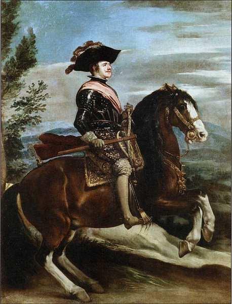 69-Диего Веласкес (1599–1660) Конный портрет Филиппа IV. Около 1635.jpg
