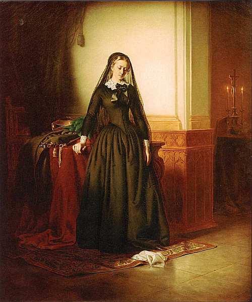 21-Йожеф Борсос (1821–1883) Вдова 1853.jpg