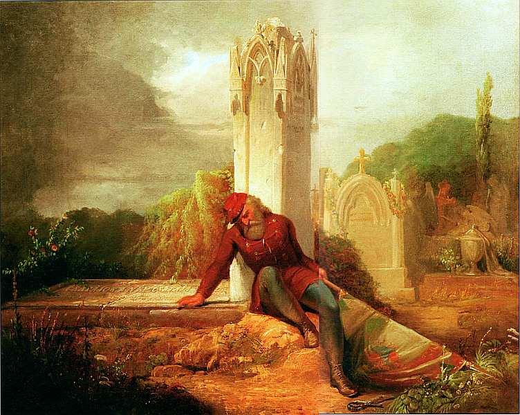 22-Ференц Уйхази (1827–1921) Скорбящий солдат 1850.jpg