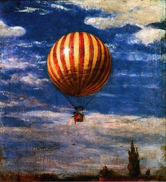 33-Пал Синьеи-Мерше (1845–1920) Воздушный шар 1878.jpg