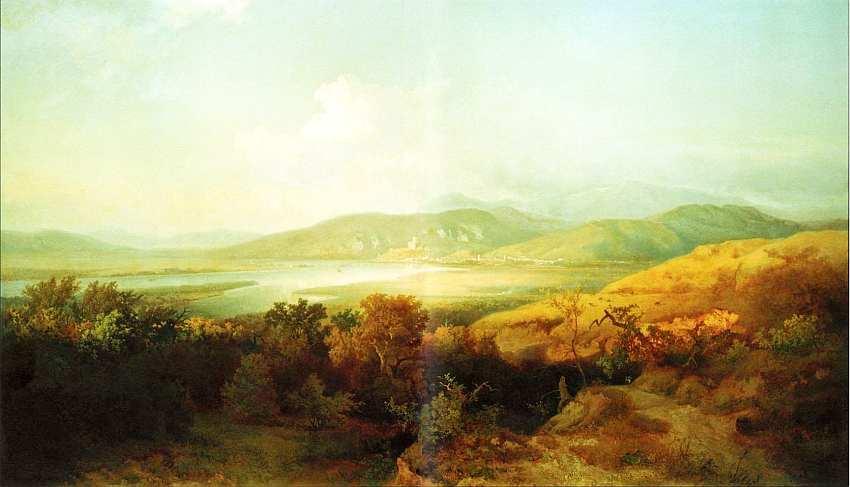 34-Шандор Бродский () (1819–1901) Эстергом и окрестности. Около 1875.jpg