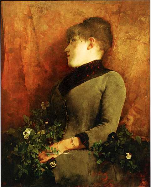 42-Шимон Холлоши (1857–1918) Размышление 1886.jpg