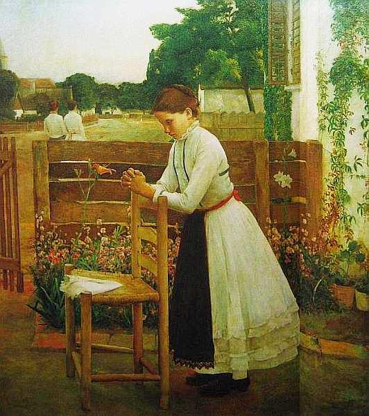 43-Бела Ивани-Грюнвальд (1867–1940) Молитва 1891.jpg