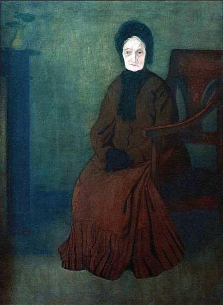 46-Йожеф Рипль-Ронаи (1861–1927) Моя почтенная мать 1892.jpg