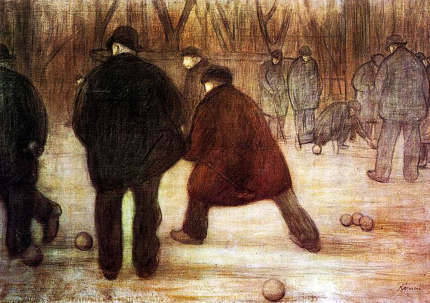 47-Йожеф Рипль-Ронаи (1861–1927) Игроки в кегли 1892.jpg