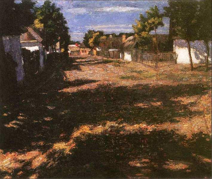 53-Адольф Феньеш (1867–1945) Тихая улица 1899.jpg