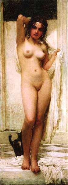 55-Карой Лотц (1833–1904) Купающаяся женщина 1901.jpg