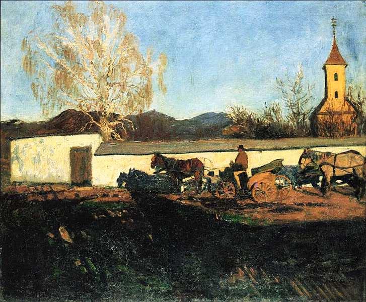 56-Карой Ференци (1862–1917) Мартовский вечер 1902.jpg