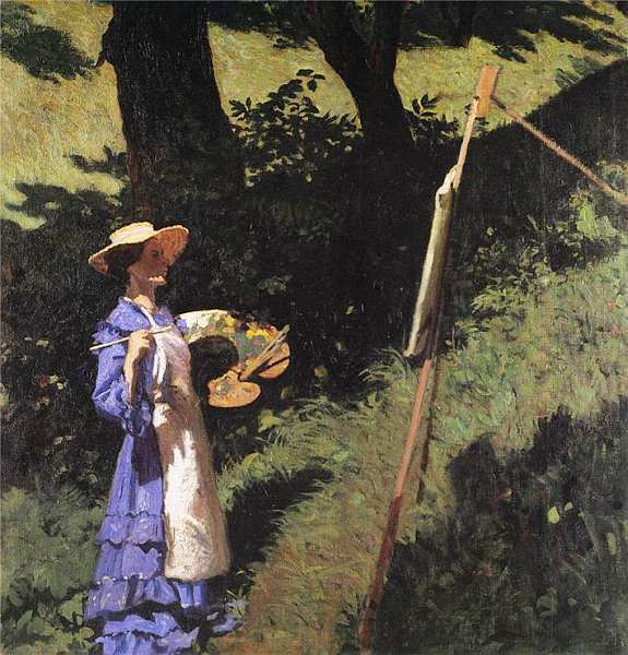 57-Карой Ференци (1862–1917) Художница 1903.jpg