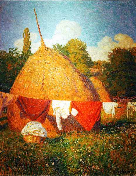 59-Бела Ивани-Грюнвальд (1867–1940) Сушка одежды 1903.jpg