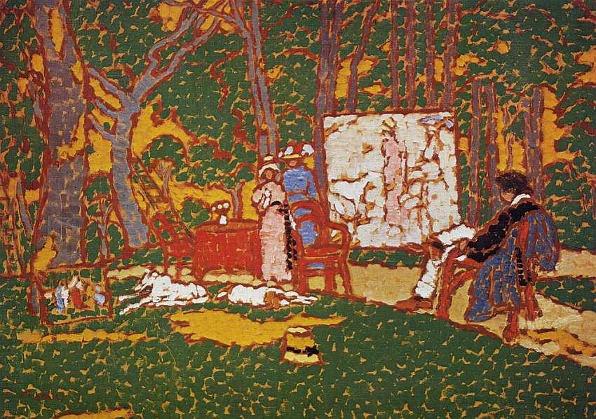 62-Йожеф Рипль-Ронаи (1861–1927) В парке 1910–1911.jpg