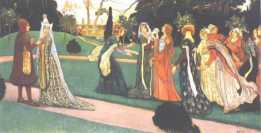 66-Аладар Кёресфой-Криш (1863–1920) Клара Зах. Диптих. Часть I 1911.jpg