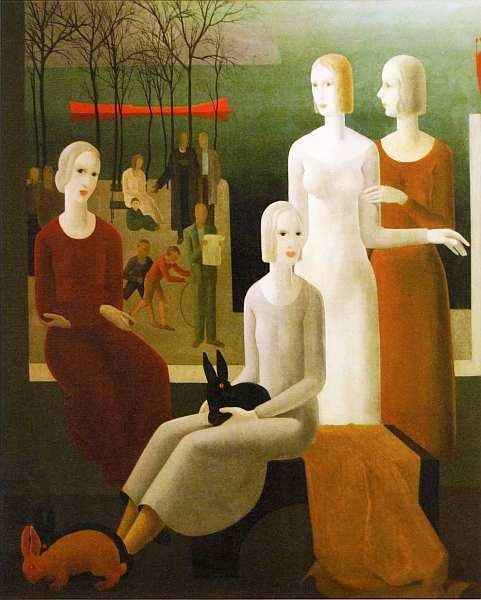 70-Бела Контули (1904–1983) Друзья 1933.jpg