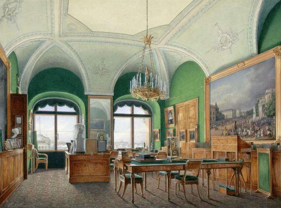 Эдуард Гау - Большой кабинет императора Николая I.jpg
