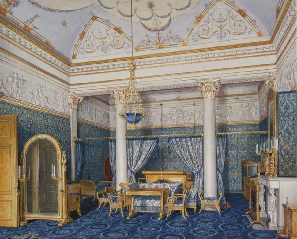 Эдуард Гау - Спальня императрицы Александры Федоровны.jpg