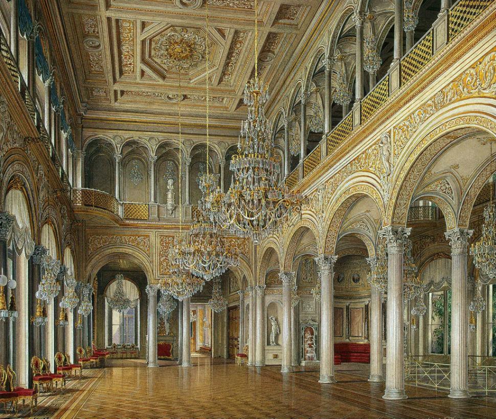 Эдуард Гау - залы Зимнего дворца 1.jpg