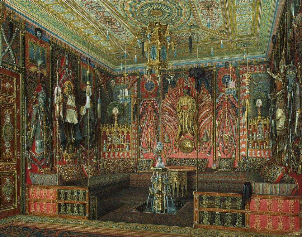 Эдуард Гау - залы Зимнего дворца 2.jpg
