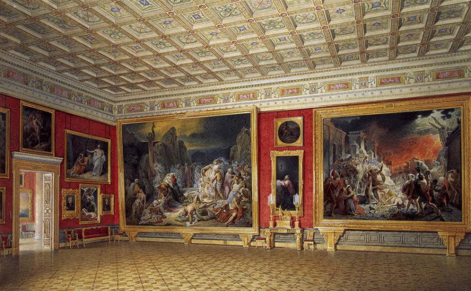 Эдуард Гау - залы Зимнего дворца 3.jpg