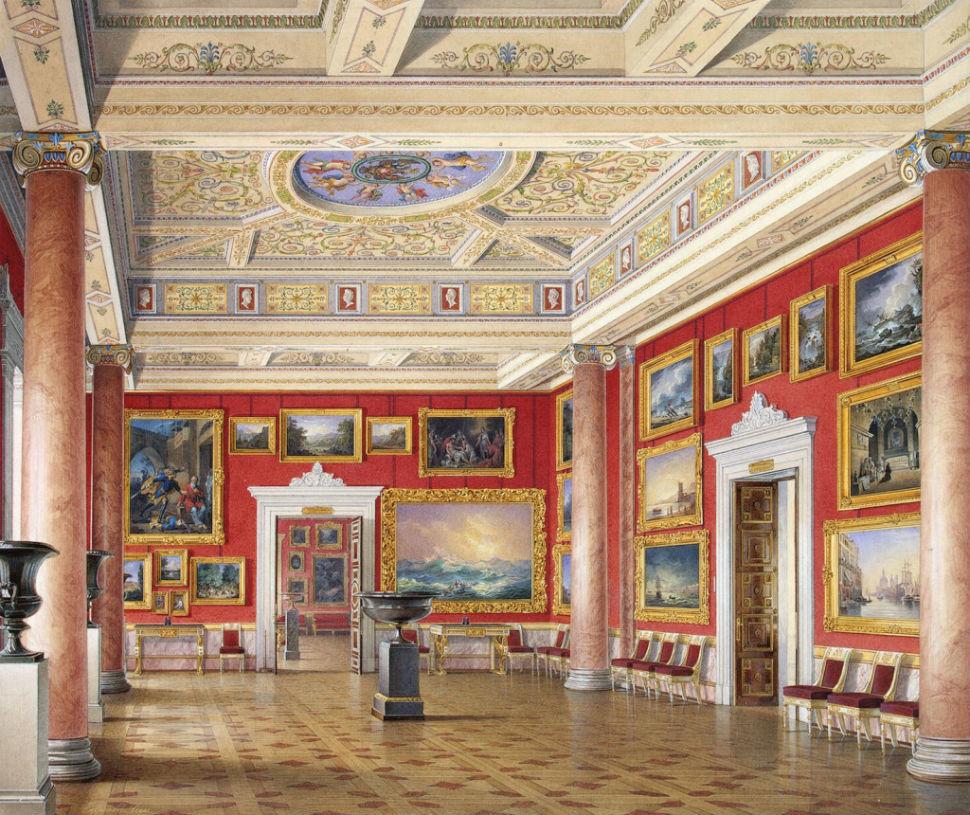Эдуард Гау - залы Зимнего дворца 4.jpg