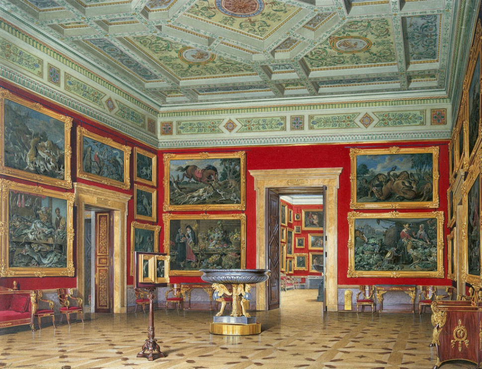 Эдуард Гау - залы Зимнего дворца 6.jpg