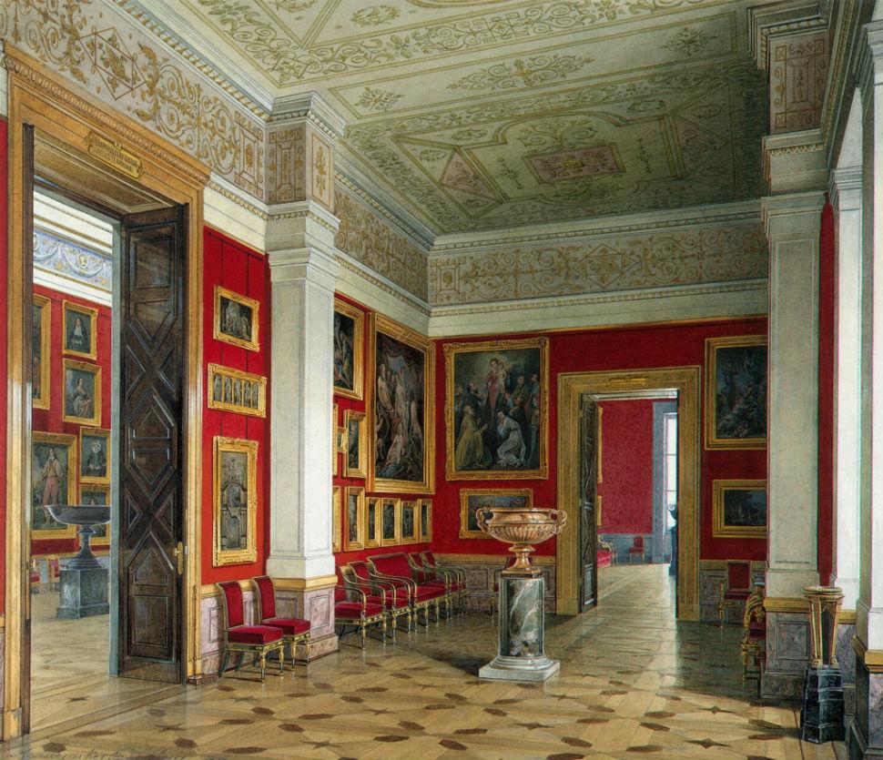 Эдуард Гау - залы Зимнего дворца 7.jpg