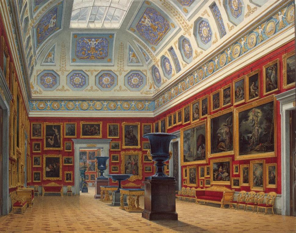 Эдуард Гау - залы Зимнего дворца 9.jpg