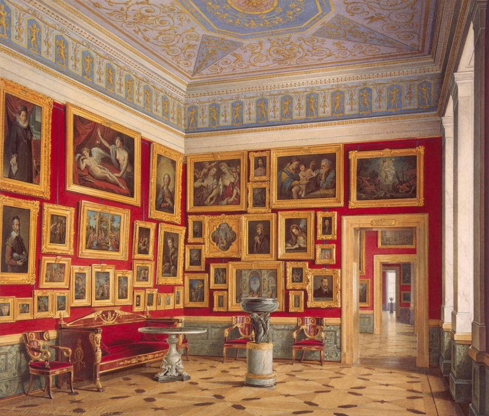 Эдуард Гау - залы Зимнего дворца 10.jpg