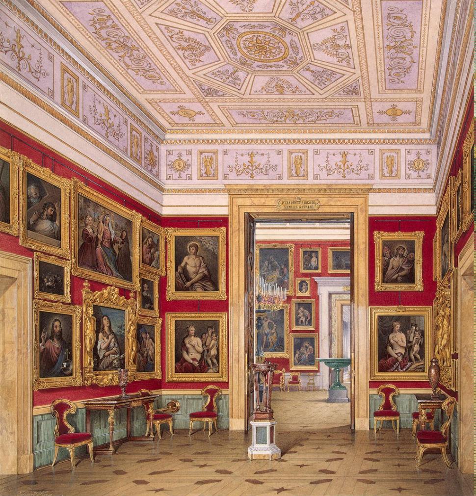 Эдуард Гау - залы Зимнего дворца 11.jpg