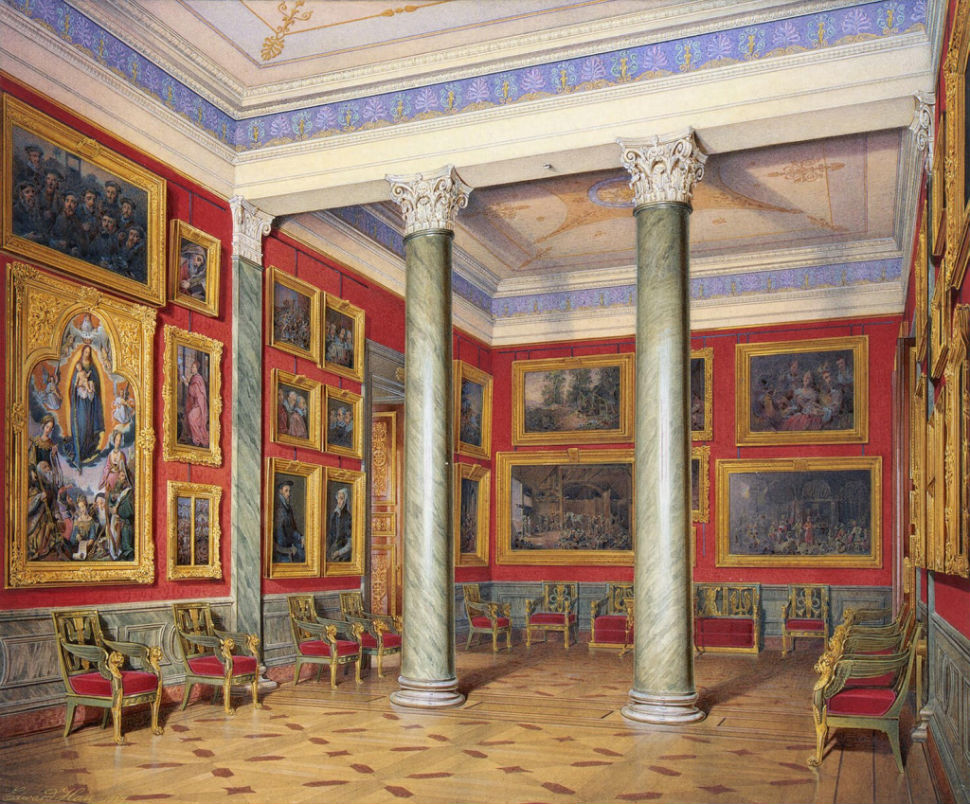 Эдуард Гау - залы Зимнего дворца 12.jpg