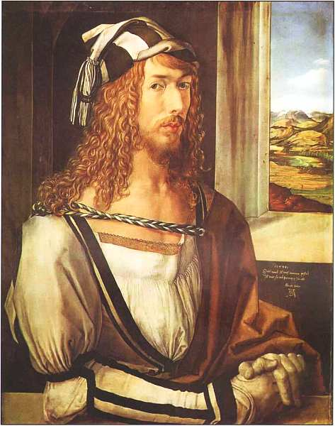 10-Альбрехт Дюрер (1471–1528) Автопортрет 1498.jpg