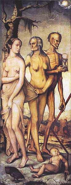 11-Ханс Бальдунг (Грин) (около 14841485-1545) Возрасты человека и Смерть 1541–1544.jpg